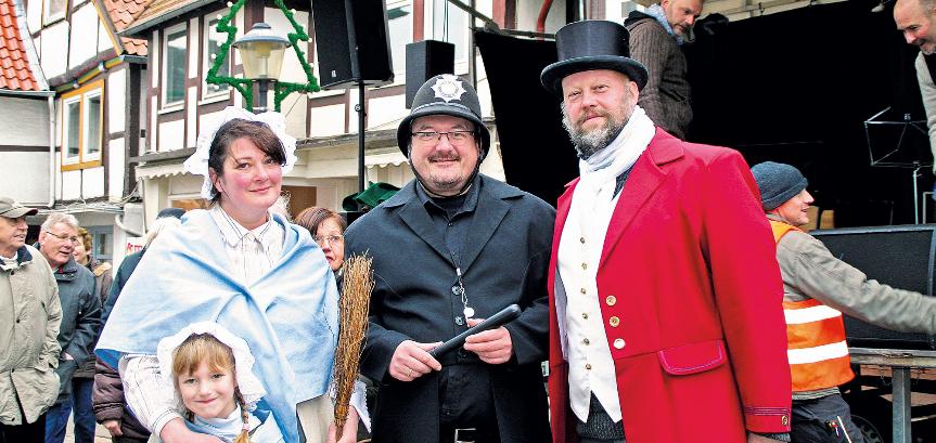 Salzufler Landpartien: Charles Dickens in Blomberg