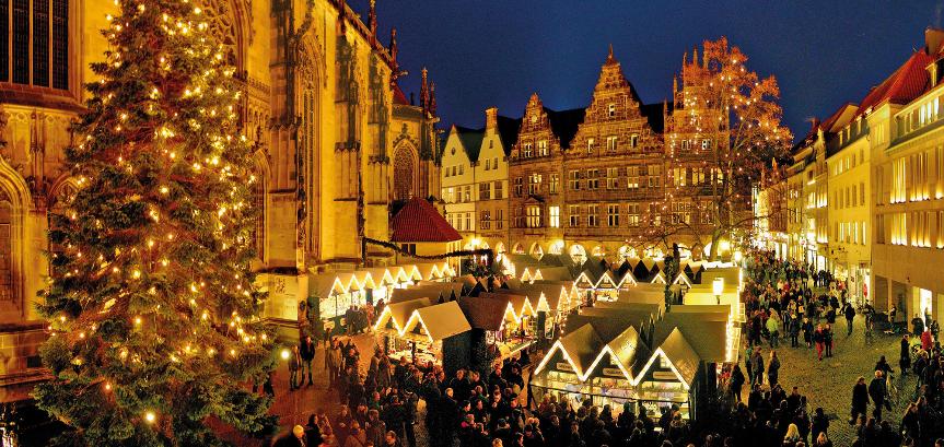 Salzufler Landpartien: Weihnachtsmärkte in Münster