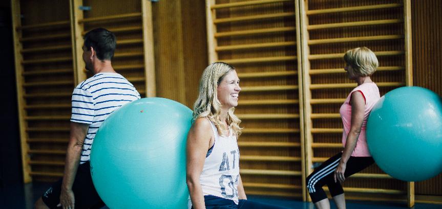 Fit in den Tag: Rücken-Fit-Gym