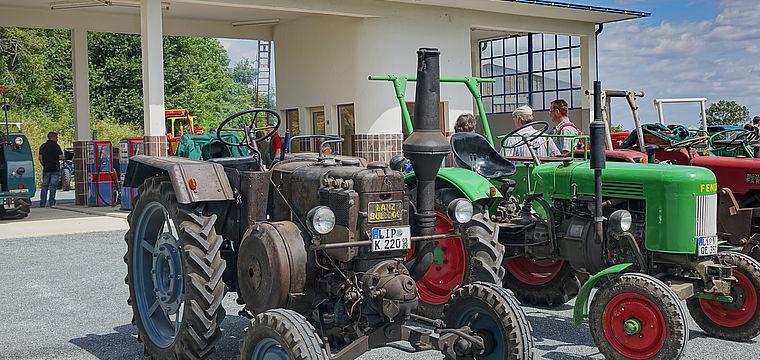 Oldtimer-Traktorentreff im Freilichtmuseum