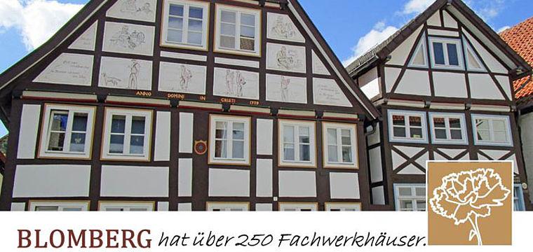 Stadtspaziergang durch die historische Altstadt von Blomberg