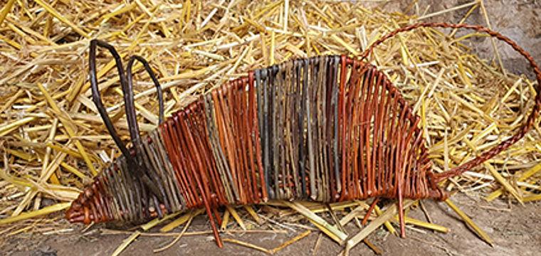 NaTourErlebnis Flechten von Tieren aus Weiden